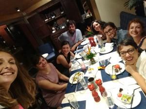 Luciana Sousa, Valeria Luiselli, Samanta Schweblin, Martín Felipe Castagnet, Mariana Torres, Daniel Saldaña París, Daniela y Natalia Borges